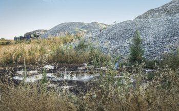 80.000 toneladas de residuos de vidrio se acumulan en una empresa ambiental (y contaminante)