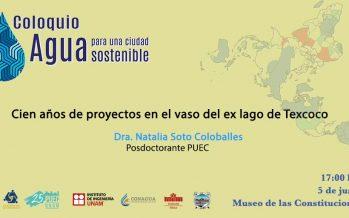Cien años de proyectos en el vaso del ex lago de Texcoco