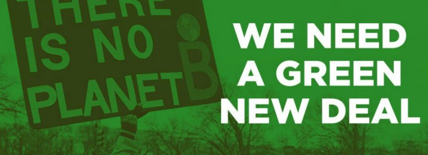 El Green New Deal y las políticas del futuro