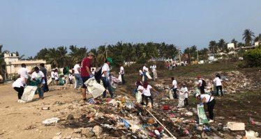 Recolectan 106 toneladas de residuos durante jornada de limpieza