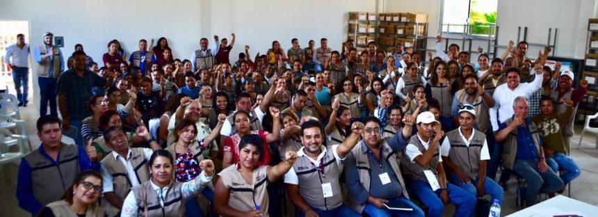 Servidores de la Nación, pilares de la Cuarta Transformación: Roberto Pantoja