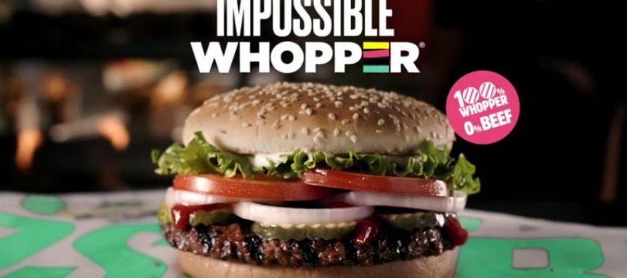 ¿Ya conoces la hamburguesa imposible?