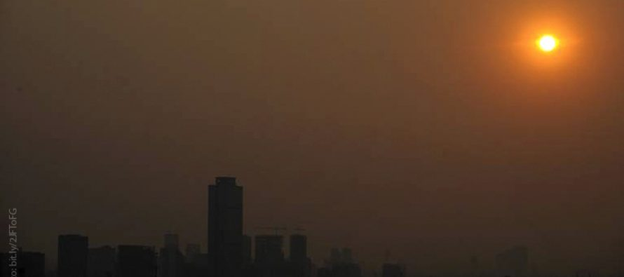 En México, 21 mil muertes al año asociadas con mala calidad del aire