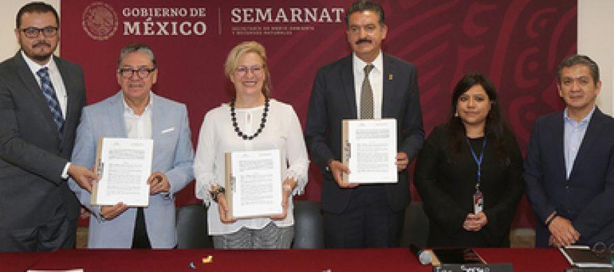 Trabajo conjunto para trabajar en la agenda ambiental de México