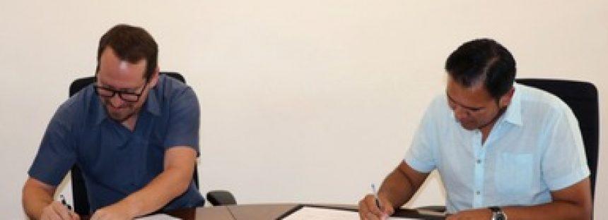 Firman convenio de colaboración a favor de las áreas naturales protegidas en territorio insular mexicano