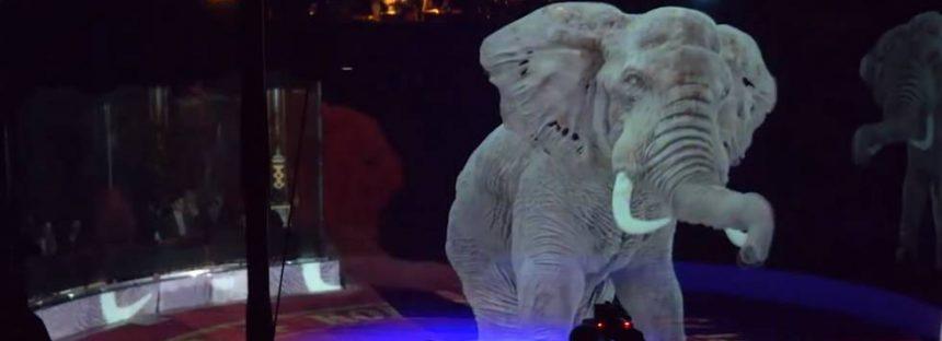 Hologramas para sustituir a los animales de los circos