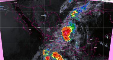 Hoy se pronostican lluvias intensas para Guanajuato, Michoacán, Guerrero y Oaxaca