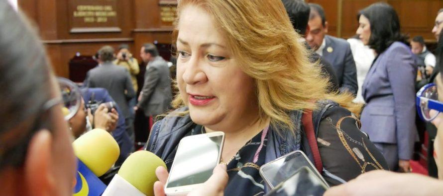 """""""El único incentivo de mi trabajo parlamentario es, hacer lo mejor para las y los michoacanos"""": Cristina Portillo Ayala"""