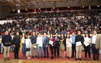 Realiza Bienestar entrega histórica de becas para estudiantes del Tecnológico de Morelia