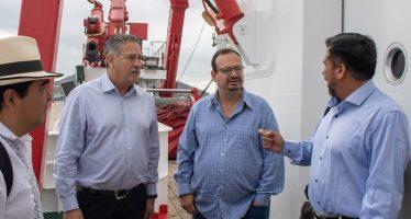 Trabajarán en coordinación, Conapesca e Inapesca para mantener ordenar, modernizar y elevar la competitividad del sector pesquero y acuícola
