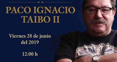 Conversatorio con Paco Ignacio Taibo II