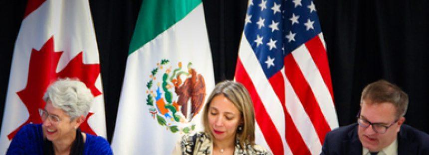 En el marco de la CCA, México, Estados Unidos y Canadá mantienen convicción para proteger el medio ambiente