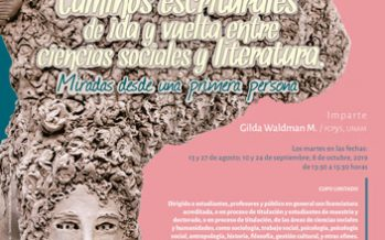 Seminario Pre-JALLA 2020: Caminos escriturales de ida y vuelta entre ciencias sociales y literatura
