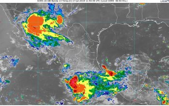 Lluvias intensas se prevén en Sonora y muy fuertes en Chihuahua, Sinaloa, Jalisco y Michoacán