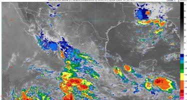 Se pronostican lluvias intensas con descargas eléctricas y posibles granizadas en Nayarit y Jalisco
