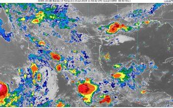 Hoy se prevén lluvias en la mayor parte de México; las más intensas, en regiones de Oaxaca