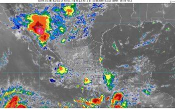 Lluvias muy fuertes con descargas eléctricas se pronostican hoy en Sonora y Chihuahua