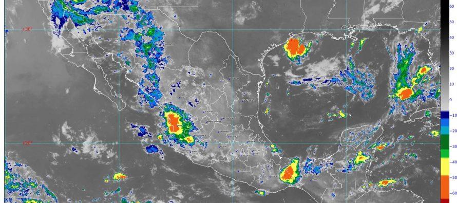 Hoy se pronostican lluvias intensas para Chiapas y muy fuertes para Sonora, Chihuahua, Tabasco y Campeche