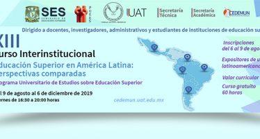 XIII Curso Interinstitucional Educación Superior en América Latina: perspectivas comparadas