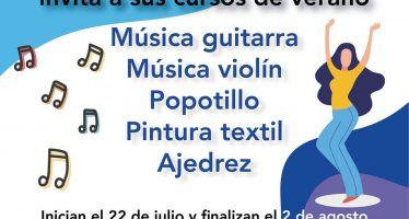 Cursos de verano del Centro Cultural del municipio de Cadereyta