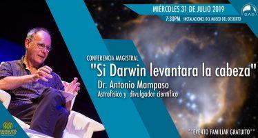"""Conferencia magistral """"Si Darwin levantara la cabeza"""""""