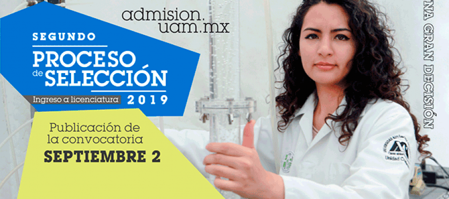UAM: Segundo proceso de selección para licenciatura 2019