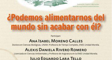 Café Científico en la UNAM Morelia: Las Ciencias Agroforestales y el reto de la alimentación humana