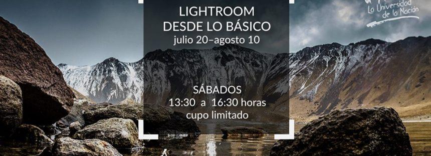 El Museo de la Luz y Desarmando la Foto realizan el curso Lightroom desde lo básico