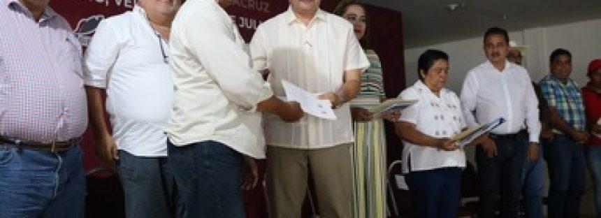 En Veracruz, inicia Bienpesca entrega de apoyos productivos a pescadores veracruzanos del norte