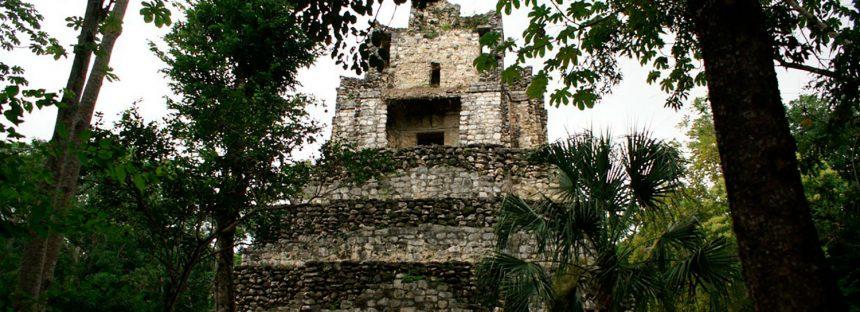 Reabren zona arqueológica de Muyil, que no fue afectada por incendio en la Biosfera de Sian Ka´an