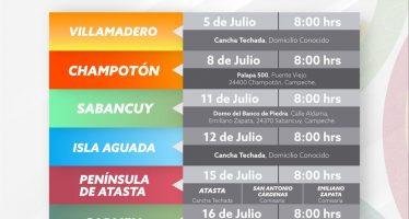 Entregan en Campeche, apoyos del Programa de Aprovechamiento Sustentable de la Pesca