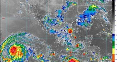 Lluvias puntuales muy fuertes, actividad eléctrica y granizadas se pronostican para Sonora, Chihuahua, Sinaloa y Estado de México