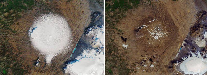 Islandia celebra su primer 'funeral' por un glaciar muerto