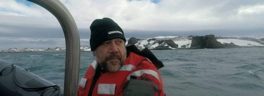 Javier y Carlos Bardem, al rescate del océano Antártico