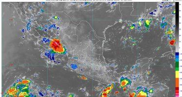 Para las próximas horas se pronostican lluvias muy fuertes en Chiapas y Campeche