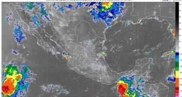 Pronostican lluvias muy fuertes para Guerrero, Oaxaca y Chiapas