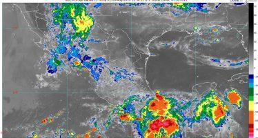 Hoy se pronostican lluvias intensas para áreas de Sonora, Sinaloa, Chihuahua, Oaxaca, Chiapas y Tabasco