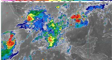 Se prevén lluvias muy fuertes para Baja California Sur, Sonora, Chihuahua, Durango y Sinaloa