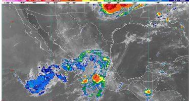 Para hoy se pronostican lluvias intensas con descargas eléctricas y granizo en Sinaloa y Nayarit