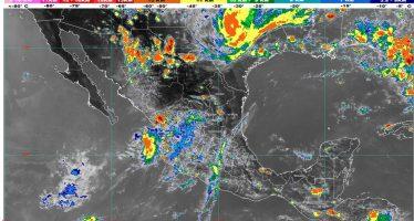 Lluvias muy fuertes con descargas eléctricas, vientos y granizo se prevén para Sonora, Chihuahua y Chiapas