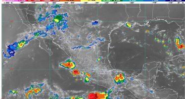Se pronostican, para hoy, lluvias muy fuertes en Sinaloa, Nayarit y Jalisco