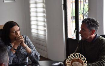 Encabeza Elvia Montes reunión de trabajo con funcionarios del INAH