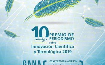 10 años del Premio de Periodismo sobre Innovación Científica y Tecnológica 2019