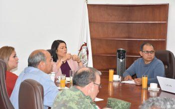 """Elvia Montes encabeza """"Mesa Regional de Seguridad"""""""