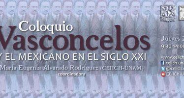 Coloquio Vasconcelos y el mexicano en el siglo XXI