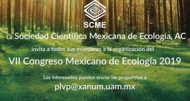 VII Congreso Mexicano de Ecología 2019