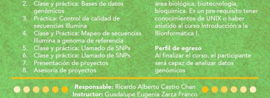 Introducción a la Bioinformática II