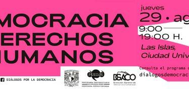 Feria: Democracia y derechos humanos