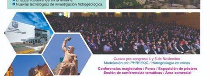 XXI Congreso nacional de aguas subterráneas 2019