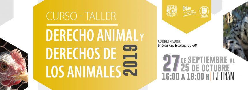 Curso-taller: Derecho Animal y Derechos de los Animales